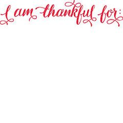 What I am thankful for - You - Bedroom Blessings