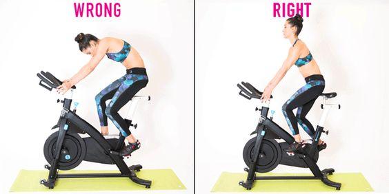 20 errores a evitar a la hora de hacer spinning