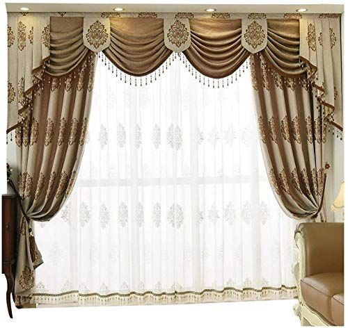 Great For Queen S House Luxury Window Curtain Living Room Drapes