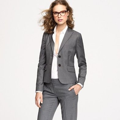 I love my J. Crew suits -- they are so well made and are great for court.