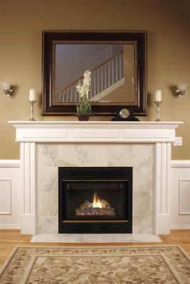 Proper Fireplace Mantel Height