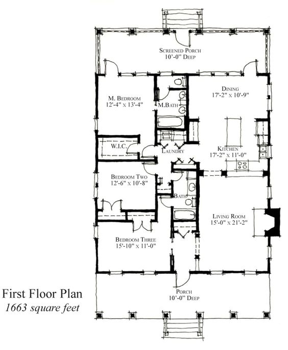 Historic House Plans Colonial House Plans