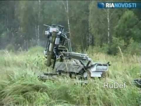 Robots militares rusos