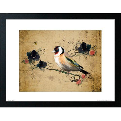 Stratocumulus By Scott Naismith Painting Print On Canvas Vintage Birds Art Bird Artwork