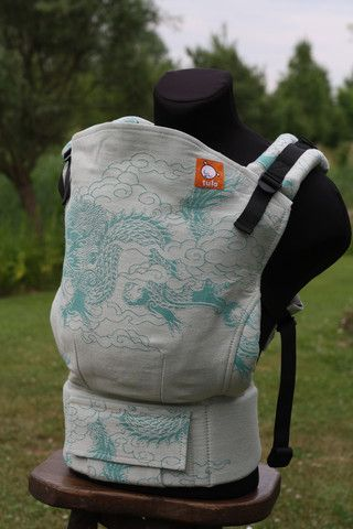TULA Baby Carriers | Toddler Carriers — (Standard Size) Half Wrap Conversion Tula Baby Carrier - Oscha Shui Lo