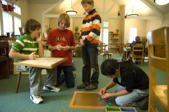 """Montessori Elementary Years (6-9) & (9-12): """"Everything in an authentic Montessori classroom revolves around the cultural curriculum, that mixture of history and science, story and study."""" - Michael & D'Neil Duffy """"Children of The Universe: Cosmic Education in the Montessori Elementary Classroom."""