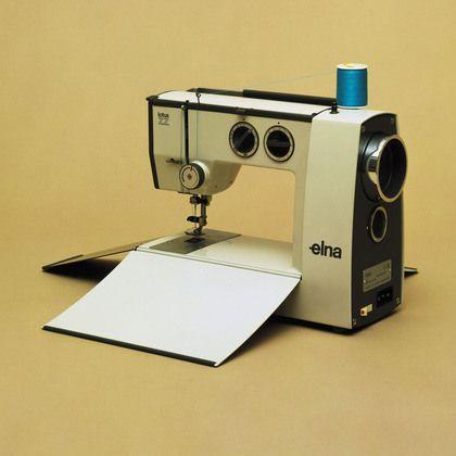 Elna Lotus - lightweight portable sewing machine. Yum