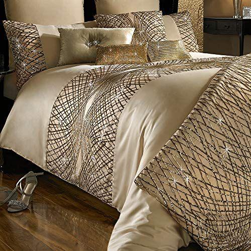 Huma Luxury Sequin Duvet Quilt Cover Set Decorative 3 Piece Bedding Set Comforter Cove Bed Furniture Design Modern Luxury Bedroom Luxury Bedding Master Bedroom