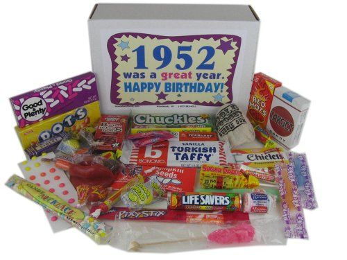 50`s Retro Candy Decade Birthday Gift...