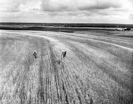 Barren land: Oklahoman agriculturists work on way to fix the Great Plains region's catastrophic erosion problem in 1942