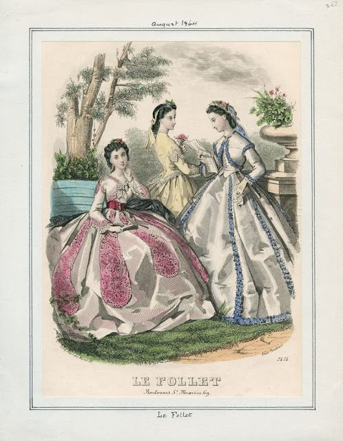 Le Follet, August 1864. LAPL Visual Collections.