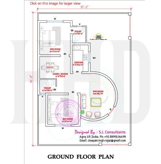 Round House Design Kerala House Design House Design Unique House Design Modern house plan with round design element