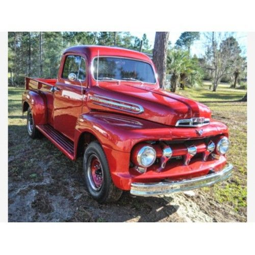 1951 Ford F3 For Sale In Navarre Florida 32566 Rat Rods Truck