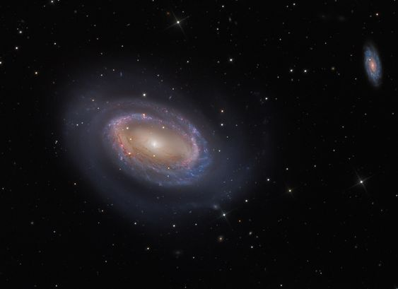 One-Armed Spiral Galaxy NGC 4725