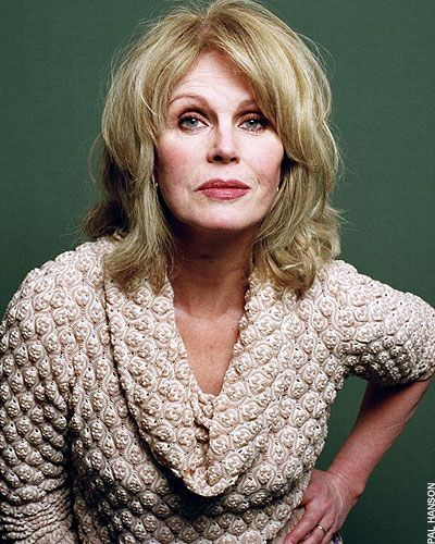 Joanna Lumley ..... ABFAB at any age! Love her