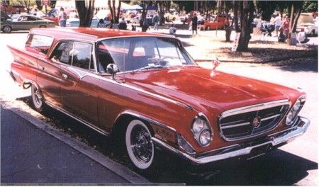 '61 Chrysler New Yorker station wagon
