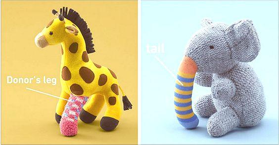 【第二生命玩具 Second Life Toys 】是日本的一個公益組織,他們希望提高人們對於器官捐獻的認識。
