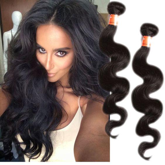 "New style 3Bundles14""16""18"" Human Hair Brazilian Hair unprocessed hair DE local"