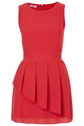 gotta <3 peplums!  **Peplum Chiffon Dress by Wal G