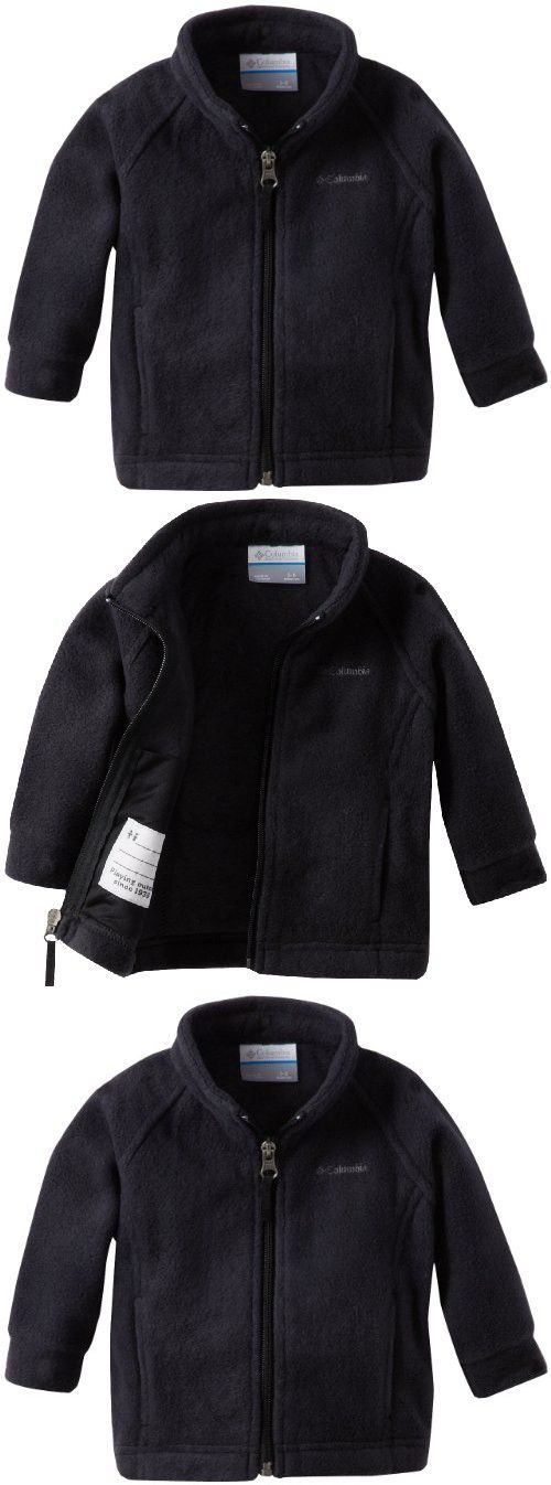Columbia Baby Girls&39 Benton Springs Fleece Jacket Black 6-12