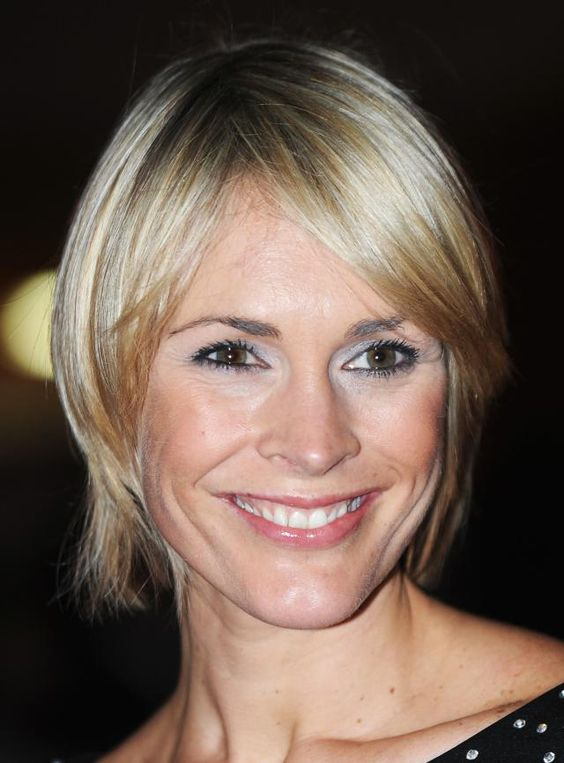 19 of the Best Short Blonde Hairstyles: Short Blonde Hairstyle, Jenni Falconer