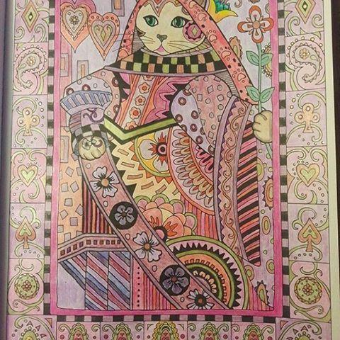 @Regrann from @claudia.ruilopez -  La Reina Gata/The Cat Queen  #gato #gatos #cat #cats #reinagata #queencat #marjoriesarnat #artecomoterapia #coloringbook #coloringbookadults #librosparacolorearadultos #fabercastellmarkers #fabercastellmetallic #fabercastellpencils #glitterpowergel #glitterpowergelsimball #lapicesdecoloresmetalizados #bayan_boyan #magicaljunglebook #desenhoscolrir #boracolorirtop #divasdasarte #coloring_secrets #colore_arte #arterapia #books_colors #gatosolivrodecolorir...