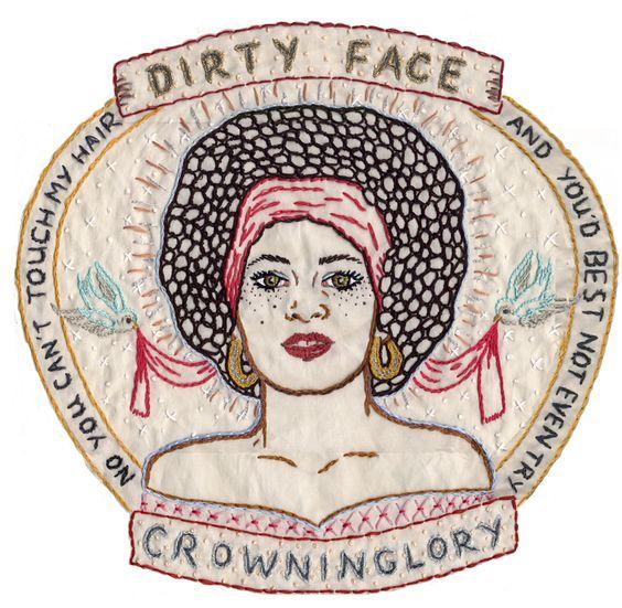 Resultado de imagen para jenny hart retratos bordados: