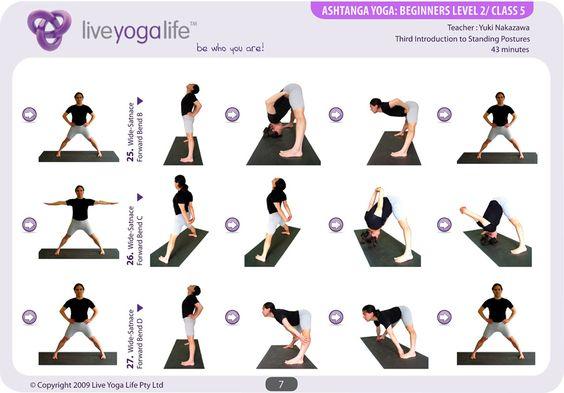 yoga elderly beginners | Ashtanga Yoga Beginners Class 5 ...