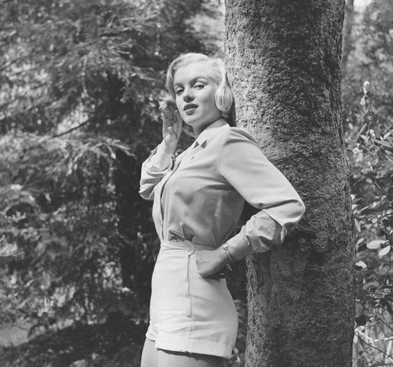 Marilyn Monroe en el parque Griffith, Los Angeles, 1950. Fotografías del archivo de la revista LIFE.