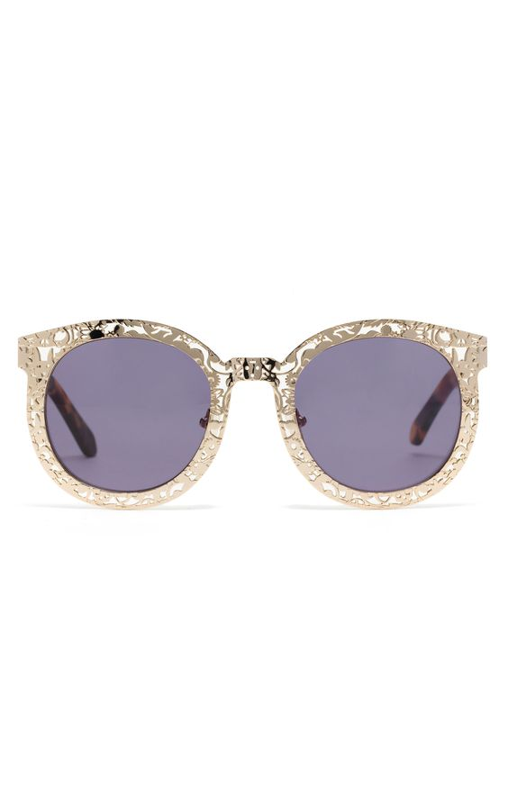 karen walker lace frame shades