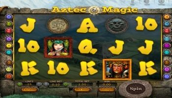 SoftSwiss has released #AztecMagic as a new video slot. It's a five reel game with symbols on three rows and different features such as #extra multipliers, special symbols, free spins, and more.  The aim of this game is to get a series of similar #symbols next to one another on the active line. Each combination must have a minimum of one symbol that is not included in more #valuable combination on the same line.