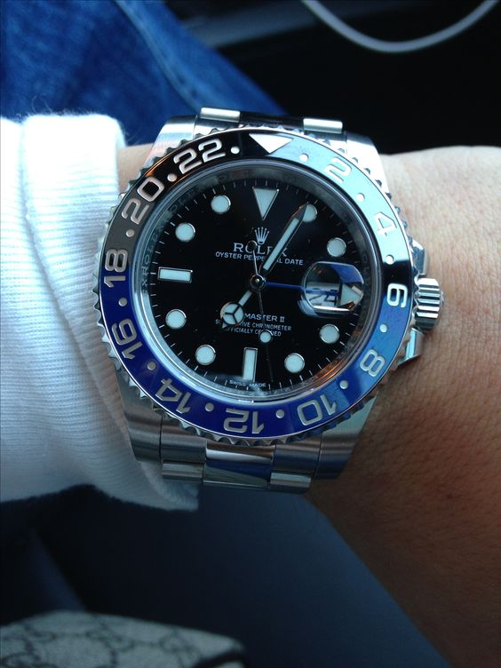 Rolex GMT black and blue