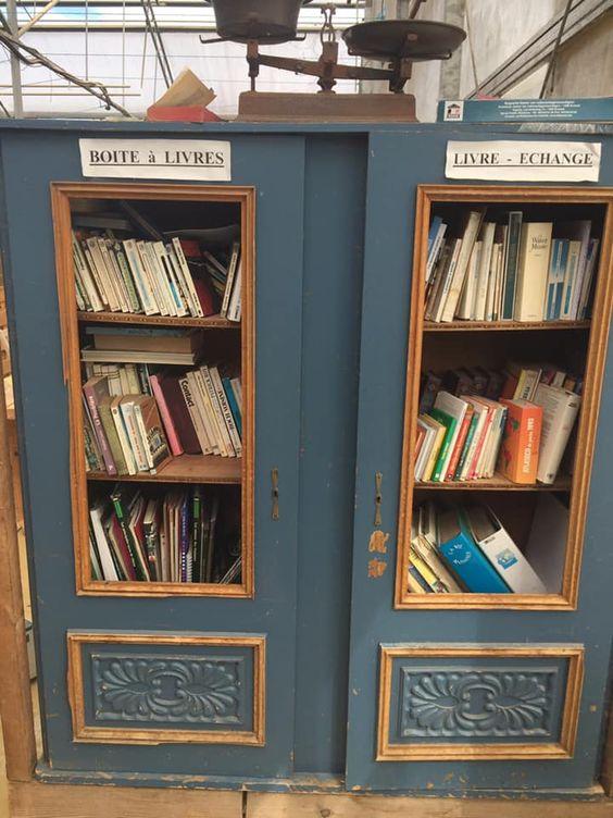 boîte à livres Velaine