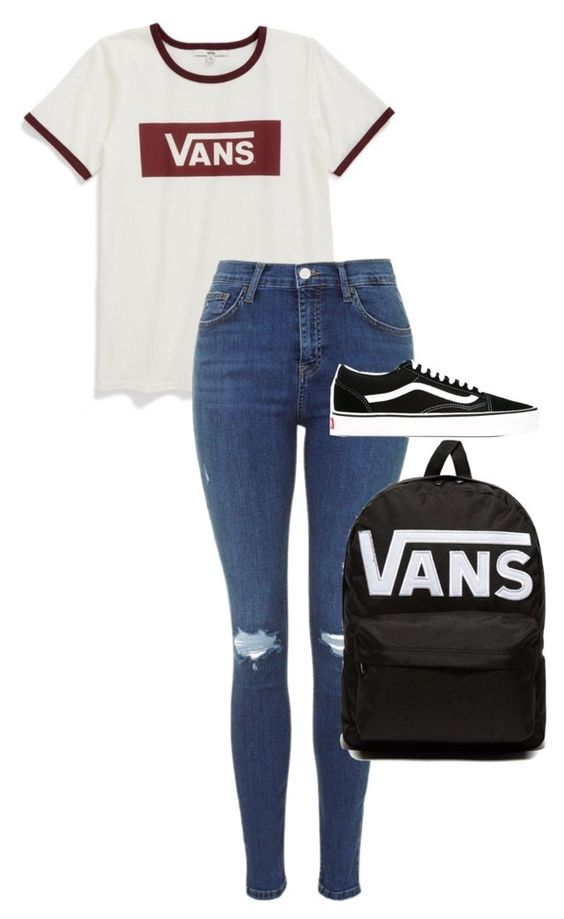 """3"" by xaieaxx ❤ liked on Polyvore featuring Vans"