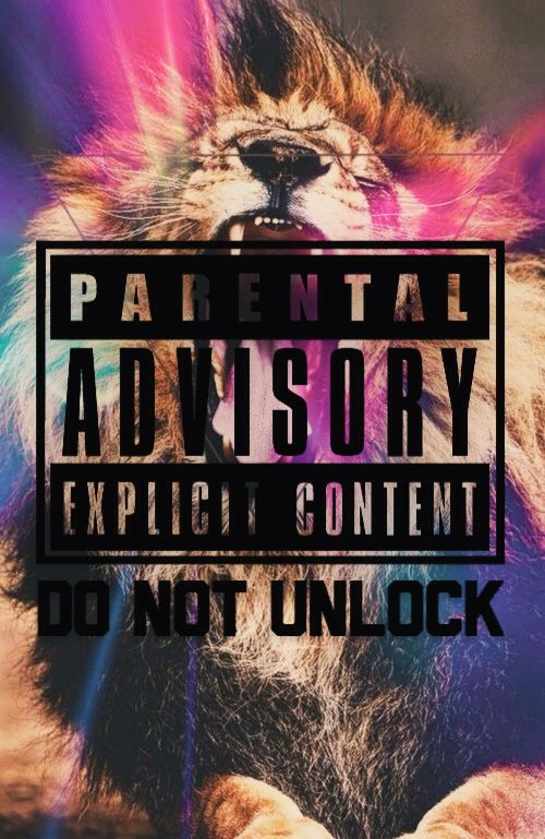 Parental Advisory Explicit Content Wallpaper | We Heart It