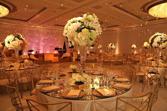 love the centerpieces. #wedding #decor #reception