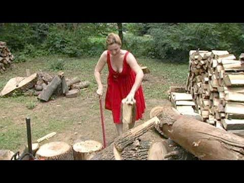 Chin Na Youtube Log Splitter Firewood Processor Firewood