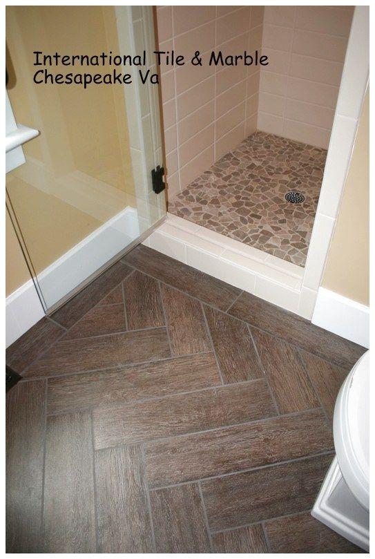 Different Designs For Your Floor Using Ceramics Wood Tile Bathroom Ceramic Wood Tile Floor Tile Floor