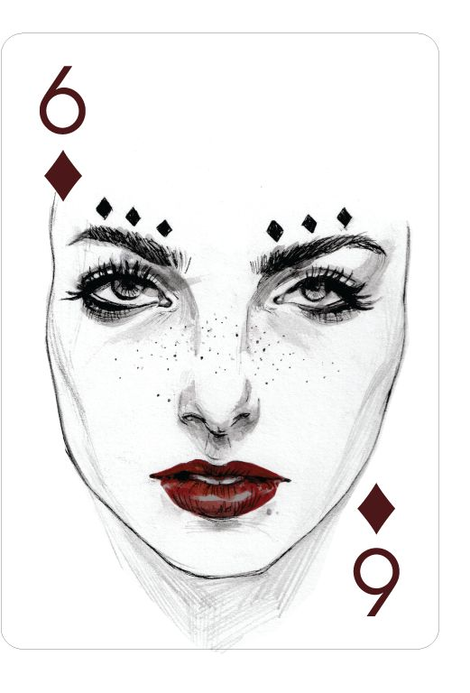 Image result for SIX of Diamonds card