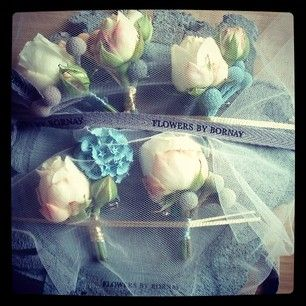 Boutonieres de Flowers by Bornay