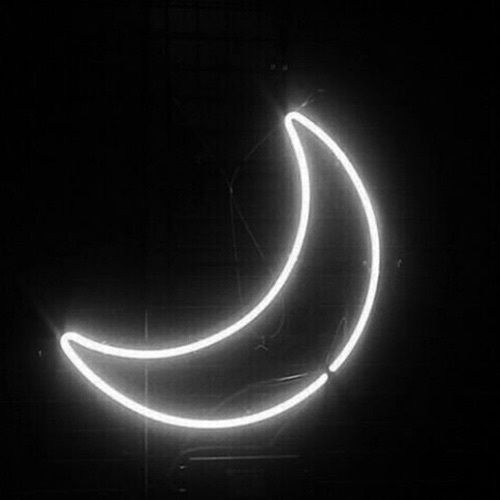 Good Night Uploaded By Blueblackbird On We Heart It In 2020 Black And White Aesthetic Wallpaper Iphone Neon Neon Aesthetic