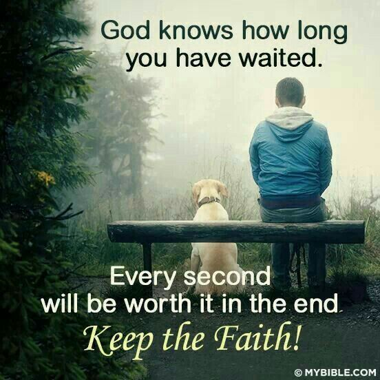 Yes God Knows How Long I Ve Been Waiting And I M Still Waiting