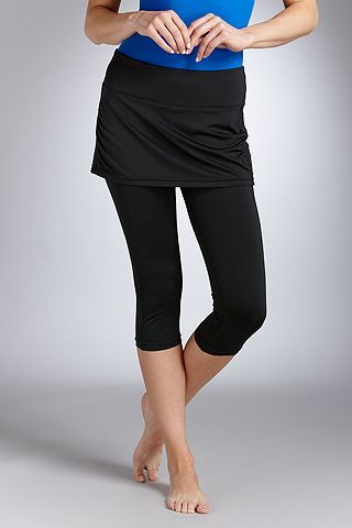 Skirted Swim Capris: Sun Protective Clothing - Coolibar | Capri ...