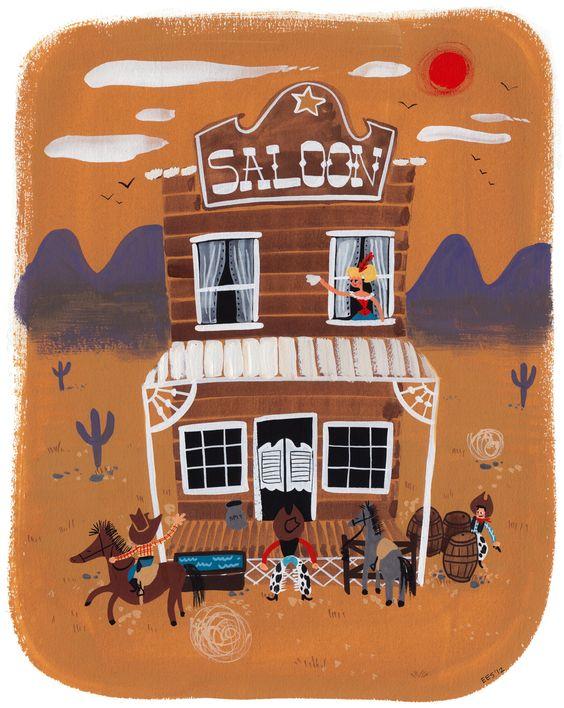 Cowboy Saloon #ellensurrey