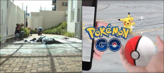 """Homem morre após cair do 16º andar ao tentar capturar """"Pokémon"""" pelo aplicativo."""