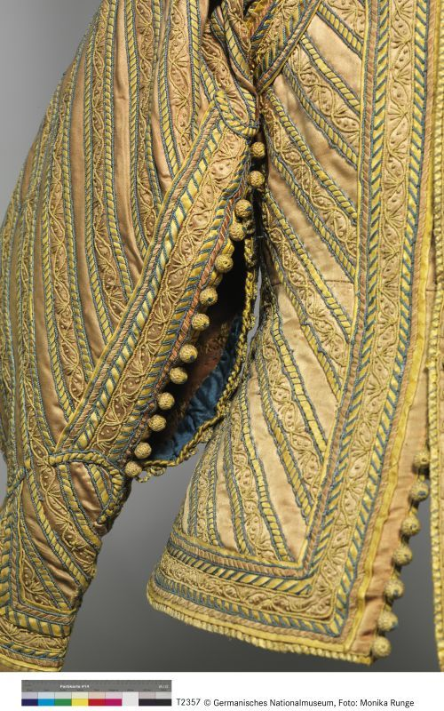 GNM T2357 Buttons on doublet, c.1630-1640 Germanischen Nationalmuseum Nürnberg