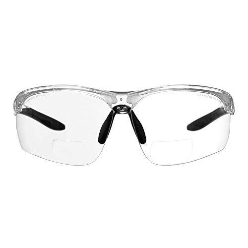 Gafas Bifocales De Seguridad Para Lectura Voltx Constructor Ultimate Montura Transparente Lentes De Seguridad Lentes Transparentes Bifocales