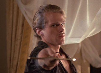 """Drop. Your. Sword."" ~Westley, The Princess Bride. (Cary Elwes)"