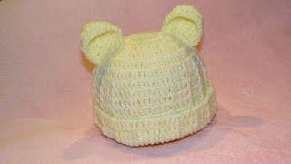 Sapatinhos Para Bebê - Life Baby: Touca Ursinho