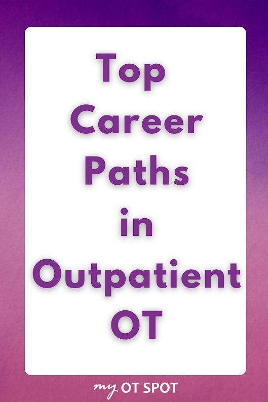 Top Career Paths In Outpatient Occupational Therapy Myotspot Com Occupational Therapy Occupational Therapy